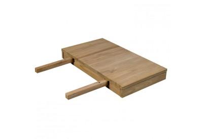 Allonge de table en teck Borneo L 40 cm - CASITA