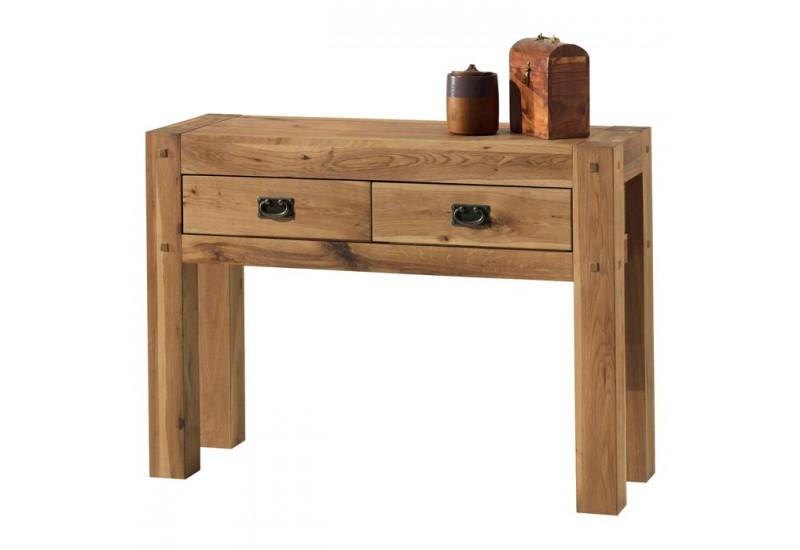 console en ch ne massif collection lodge casita koh deco. Black Bedroom Furniture Sets. Home Design Ideas