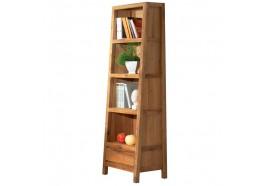 Bibliothèque L 56 x H 195 cm en chêne LODGE CASITA