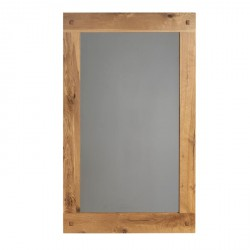 miroir l 150 cm en ch ne massif lodge casita koh deco. Black Bedroom Furniture Sets. Home Design Ideas