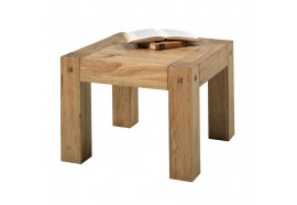 Table basse L 60 cm en chêne LODGE CASITA