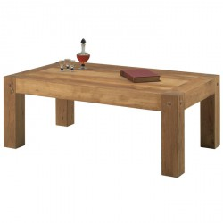 Table basse en chêne Lodge L 120 cm - CASITA