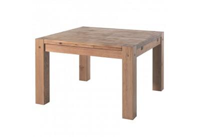 Table carrée en chêne Lodge L 120 cm - CASITA