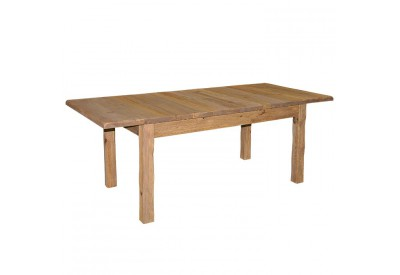 Table en pin avec allonge Cottage L 160 cm - CASITA