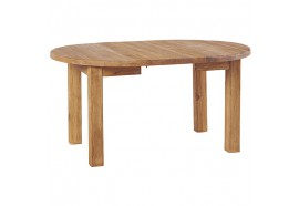 Table ronde en pin avec allonge COTTAGE CASITA