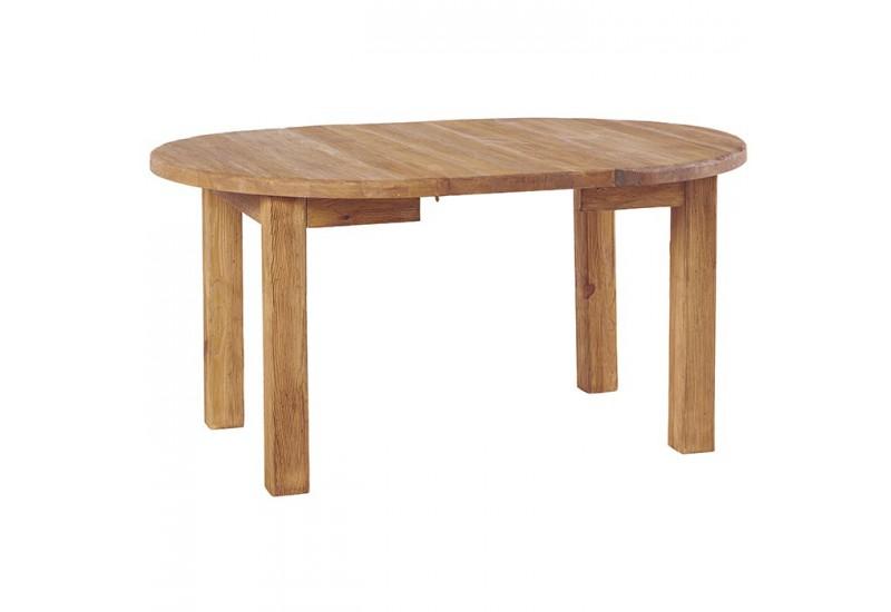 table ronde en pin cottage casita pour le sejour koh deco. Black Bedroom Furniture Sets. Home Design Ideas