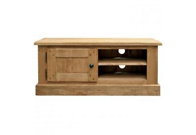meuble tv l 116 cm en pin massif cottage casita koh deco. Black Bedroom Furniture Sets. Home Design Ideas