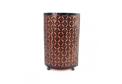 Lampe Étoiles en métal H 50 cm - Orange