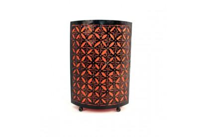 Lampe étoiles en métal 40 cm Orange