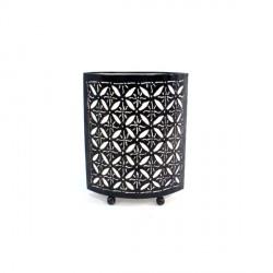 Lampe Étoiles en métal H 30 cm - Blanc